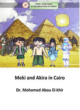 Meki and Akira in Cairo